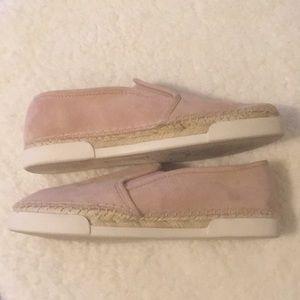 Pink Vince Camuto Slides Slip On Shows Size 7.5